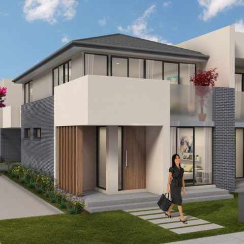 Townhouse front